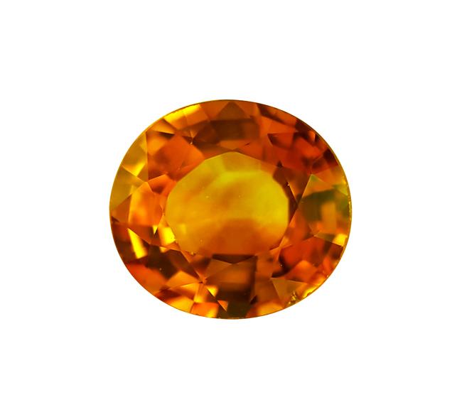 ge0177-198 옐로우 사파이어aa