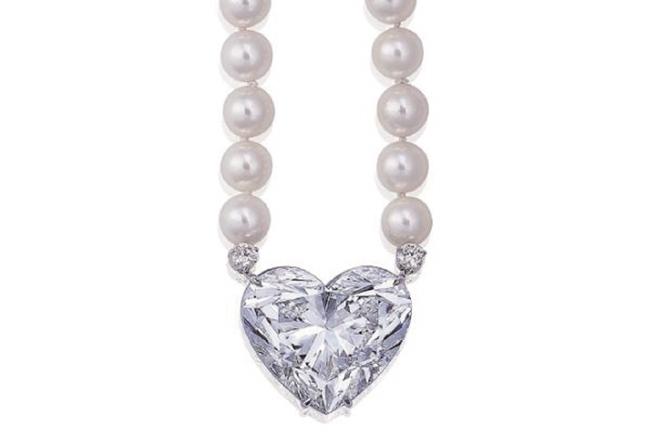 christies heart diamond